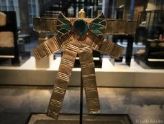Achterkant van een prachtig diadeem, vermoedelijk van Farao Ante.