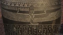 Sarcofaag van Wahibreëmachet. Hier op het borststuk is hemelgodin Noet afgebeeld.