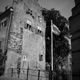 Muurhuizen, zwart-wit - Copyright