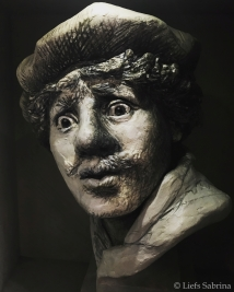Rembrandt, beeld - Copyright