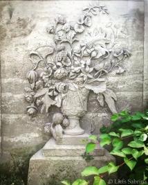 Vaas met bloemen - Copyright